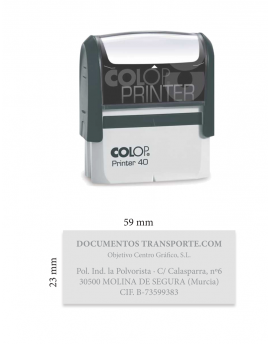 Sello Printer 40