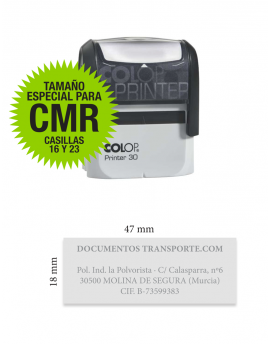 Sello Printer 30 para CMR