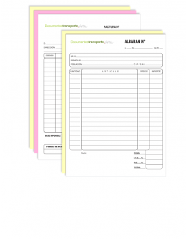 Talonario Personalizado A5 (15x21cm)