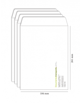 Bolsa 184x261 mm