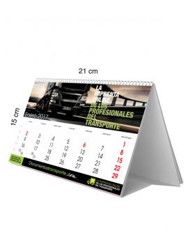 Calendario sobremesa 15x21 con imágenes
