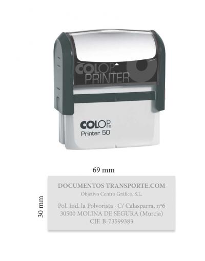 Sello Printer 35, para casillas CMR